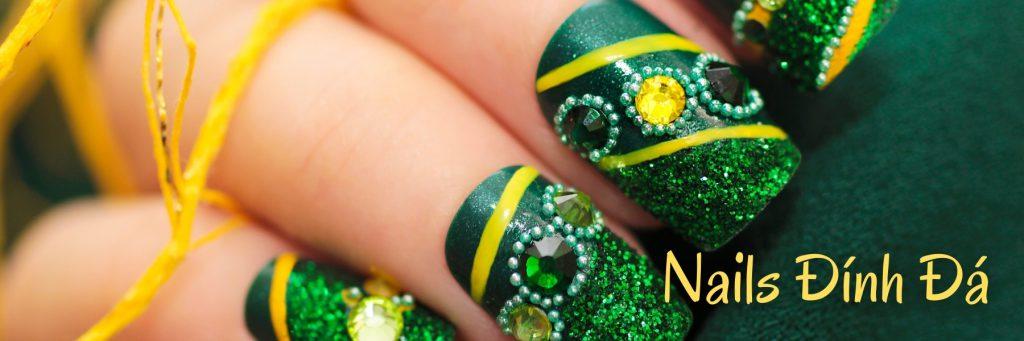 Top 7 mẫu nail đính đá Gò Vấp sang trọng cho nàng