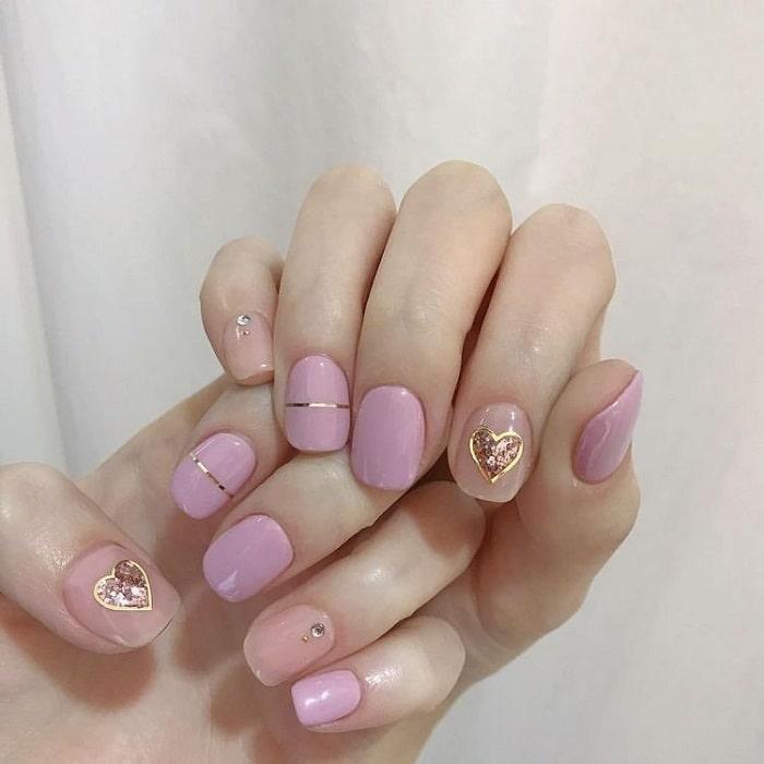 Màu hồng pastel cho đôi tay thêm mềm mại